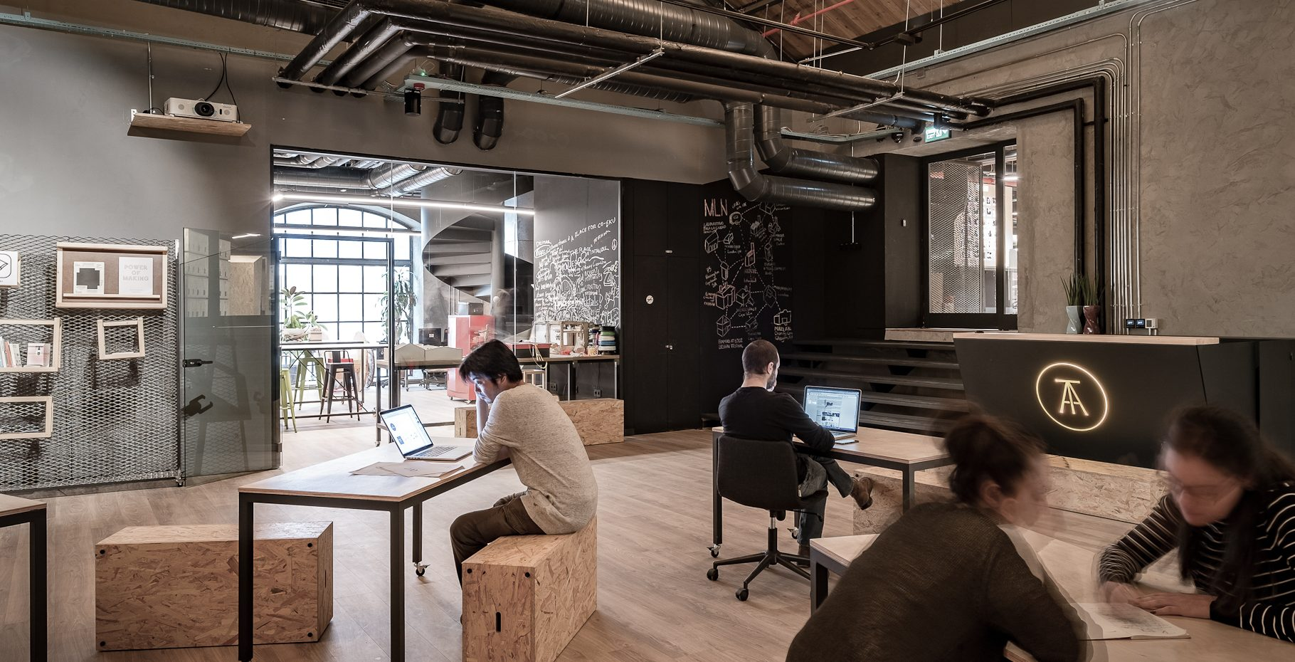 Istanbul network of coworkings